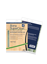 Bona SuperCourt™ Athletic Floor Care Microfiber Dry Dusting Pad